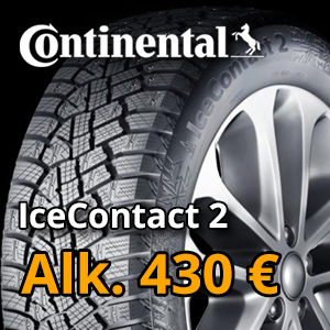 Continental IceContact 2 alk. 340 €